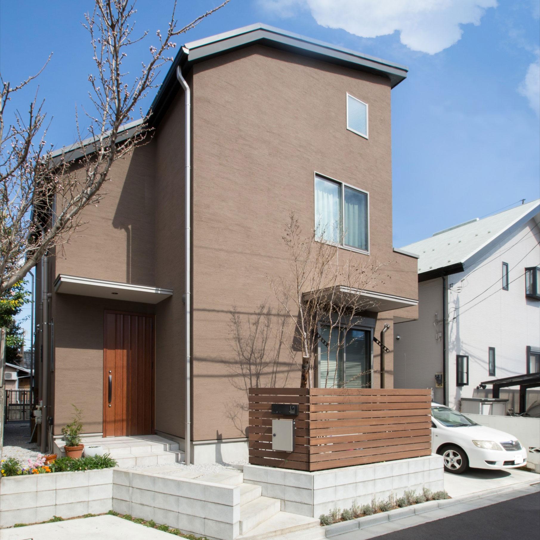 部分共有型二世帯住宅に生まれ変わった家